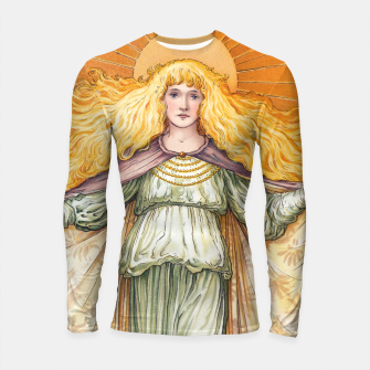 Thumbnail image of Princess Golden Flower Longsleeve rashguard , Live Heroes