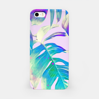 Thumbnail image of Monstera Leaves iPhone Case, Live Heroes