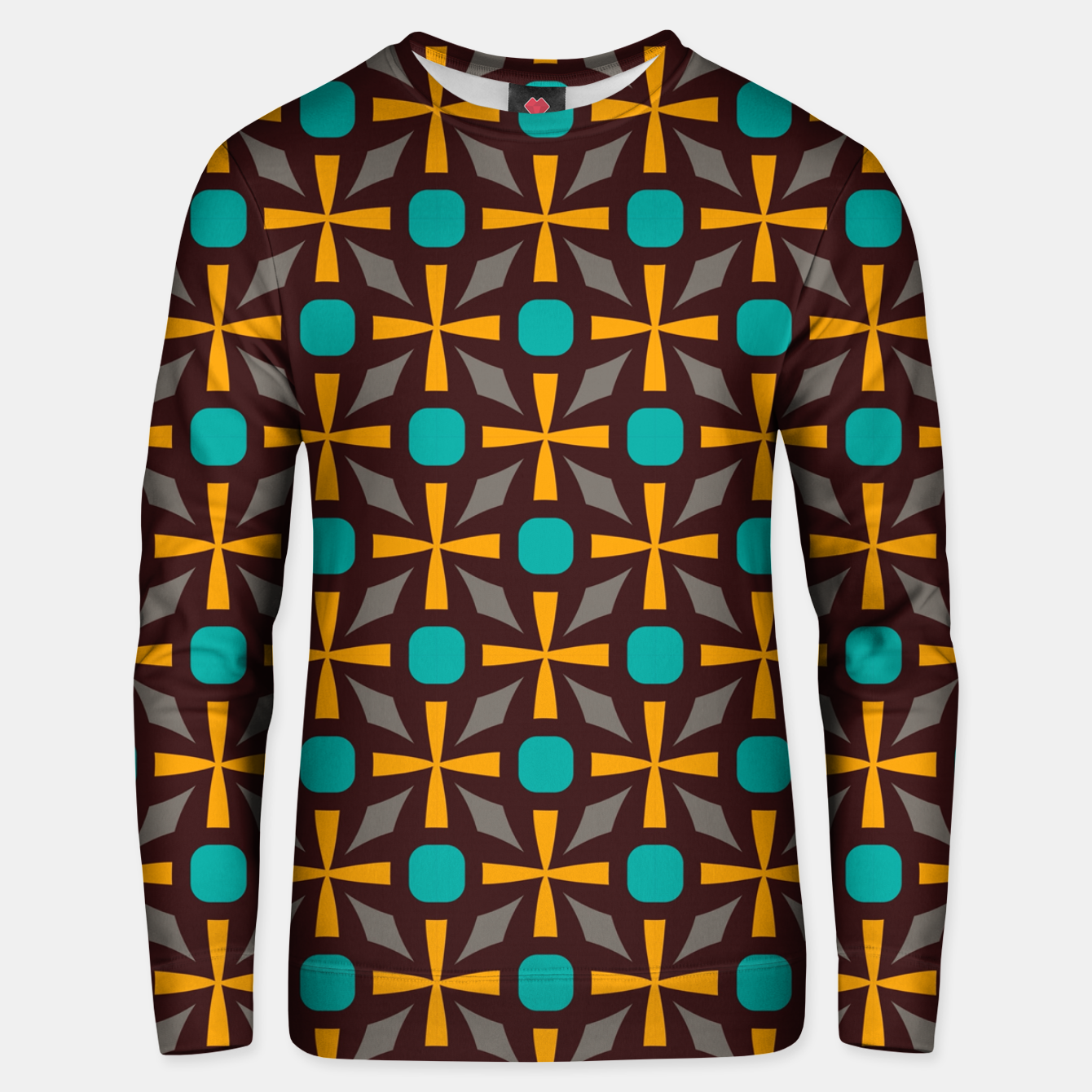 Foto Bright naughts and crosses Unisex sweater - Live Heroes