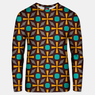 Bright naughts and crosses Unisex sweater thumbnail image