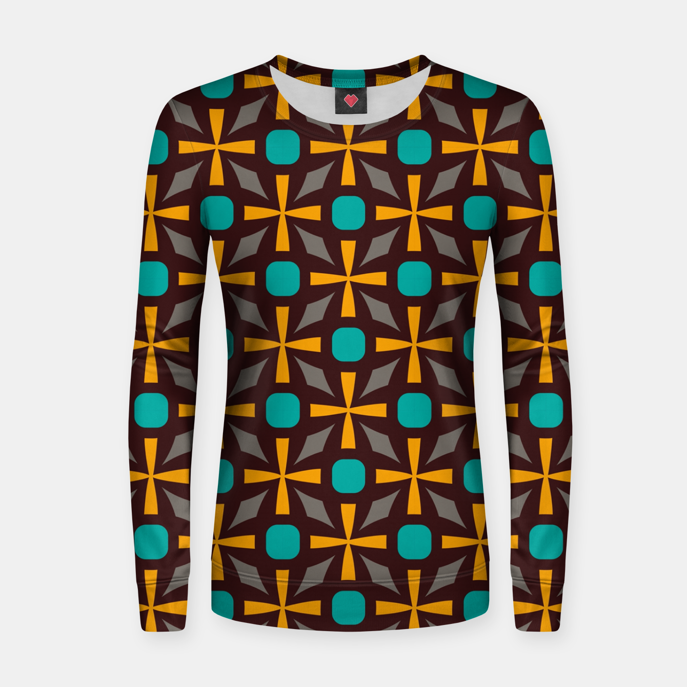Image of Bright naughts and crosses Women sweater - Live Heroes