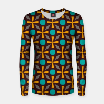 Bright naughts and crosses Women sweater thumbnail image