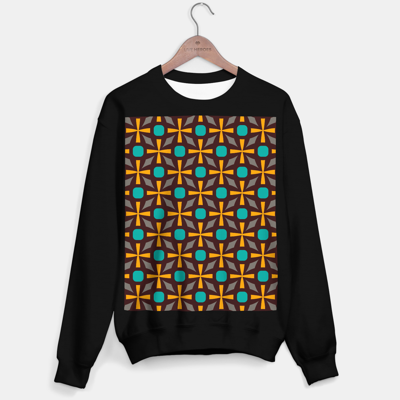Image of Bright naughts and crosses Sweater regular - Live Heroes