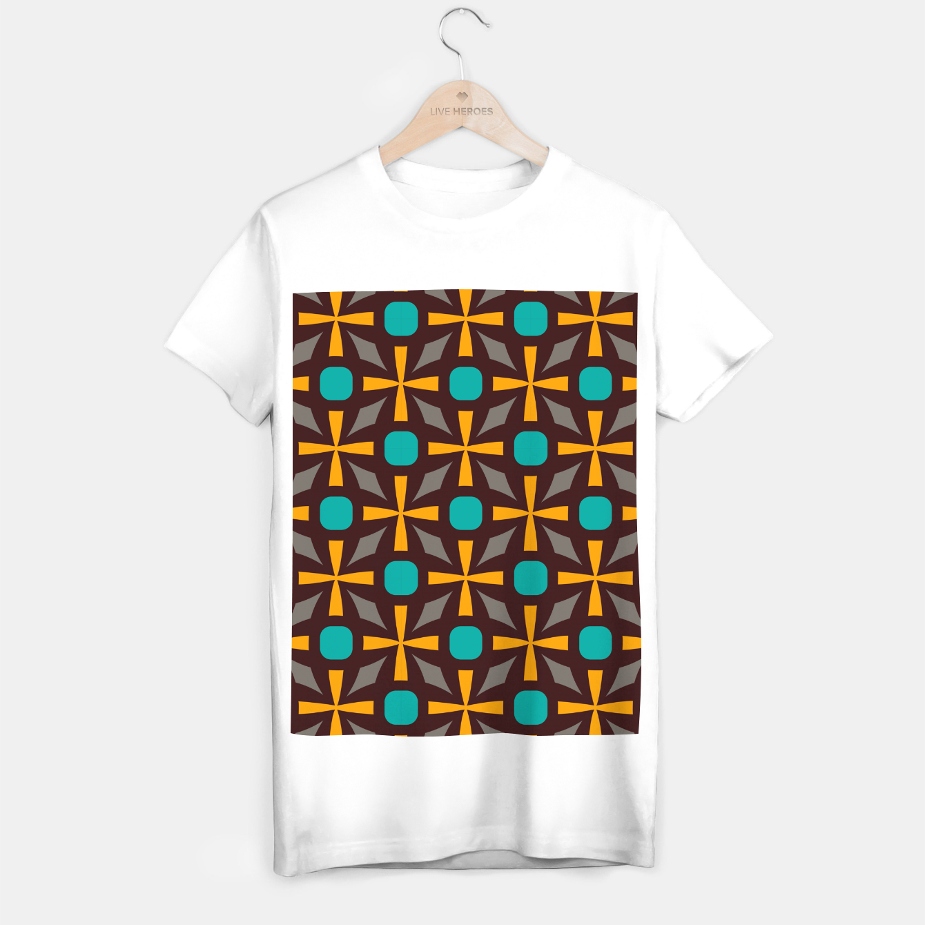 Image of Bright naughts and crosses T-shirt regular - Live Heroes