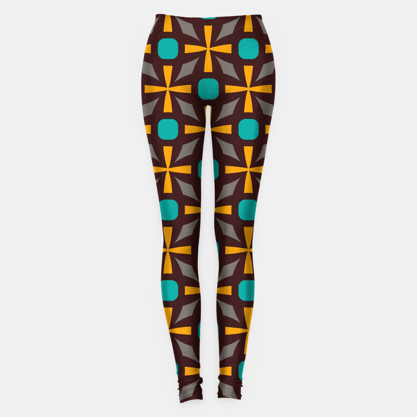 Image of Bright naughts and crosses Leggings - Live Heroes