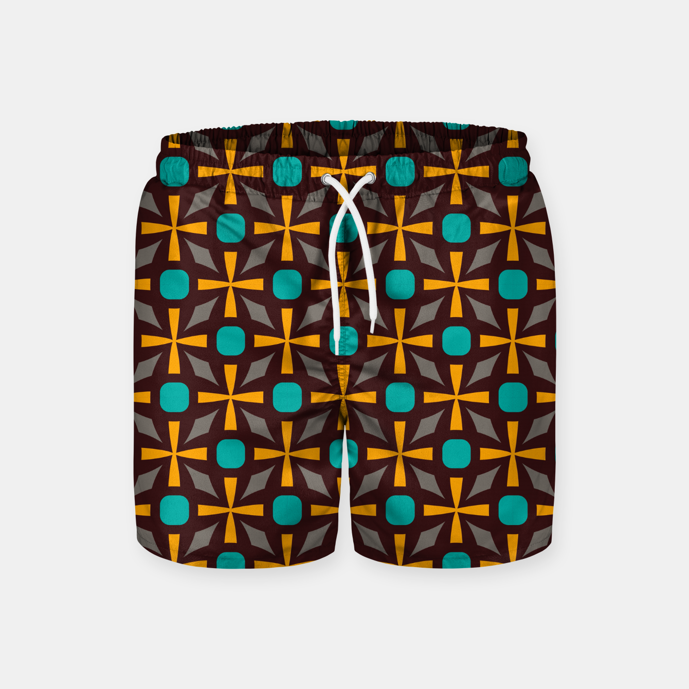Image of Bright naughts and crosses Swim Shorts - Live Heroes