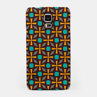 Bright naughts and crosses Samsung Case thumbnail image