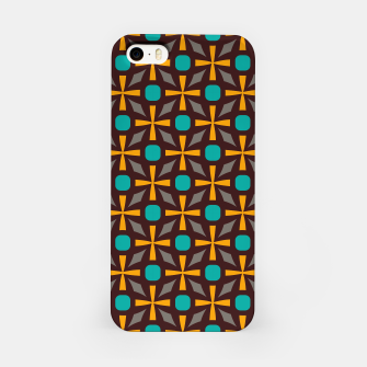Bright naughts and crosses iPhone Case thumbnail image