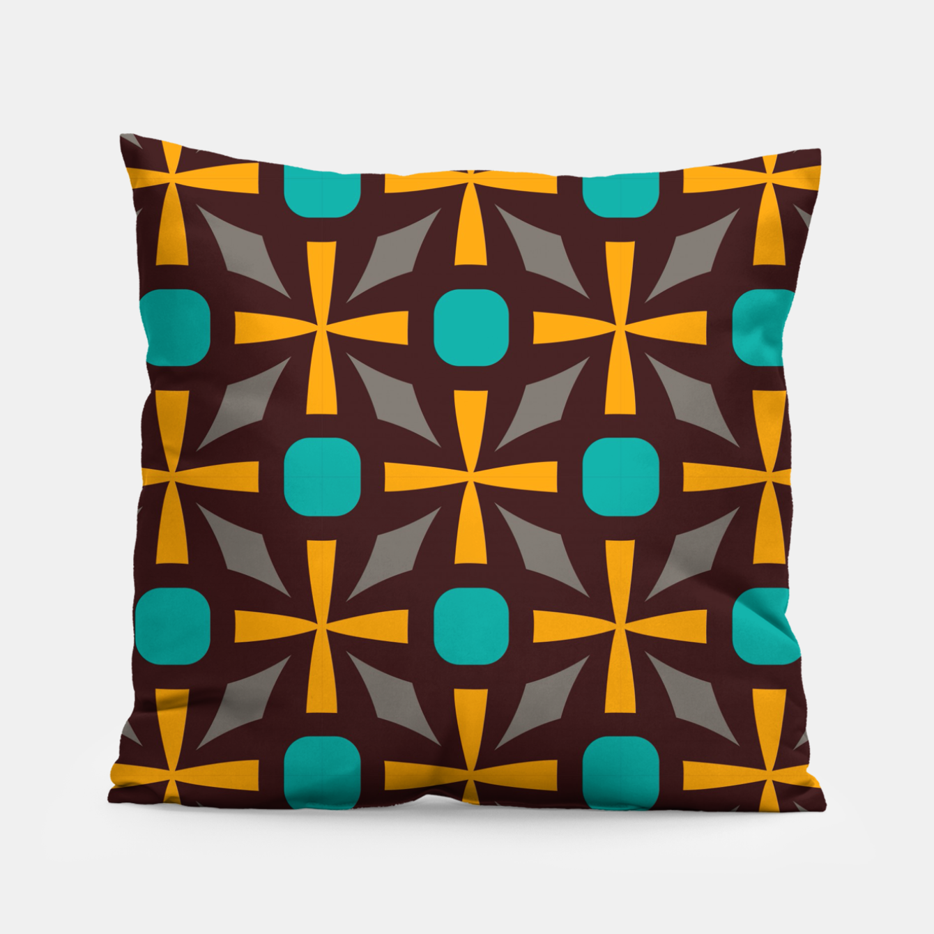 Image of Bright naughts and crosses Pillow - Live Heroes