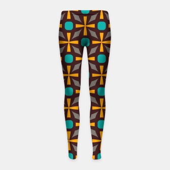 Bright naughts and crosses Girl's leggings thumbnail image