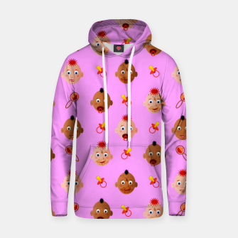 Thumbnail image of Beautiful dirty babies on pink Sudadera con capucha, Live Heroes