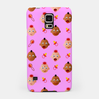 Thumbnail image of Beautiful dirty babies on pink Carcasa por Samsung, Live Heroes
