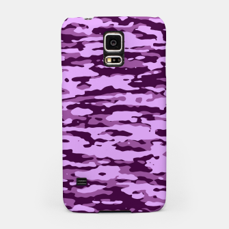 Thumbnail image of Purple Camouflage Pattern Handyhülle für Samsung, Live Heroes