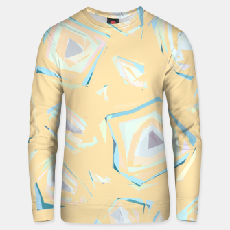 Thumbnail image of Deformed cosmic objects, floating in the empty space, geometric shapes Unisex sweater, Live Heroes