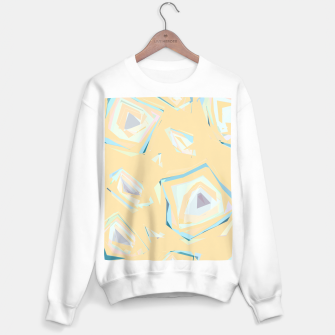 Thumbnail image of Deformed cosmic objects, floating in the empty space, geometric shapes Sweater regular, Live Heroes