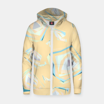 Thumbnail image of Deformed cosmic objects, floating in the empty space, geometric shapes Zip up hoodie, Live Heroes