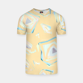 Thumbnail image of Deformed cosmic objects, floating in the empty space, geometric shapes T-shirt, Live Heroes