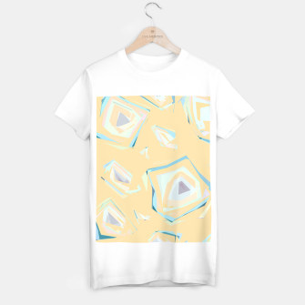 Thumbnail image of Deformed cosmic objects, floating in the empty space, geometric shapes T-shirt regular, Live Heroes
