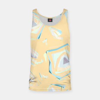 Thumbnail image of Deformed cosmic objects, floating in the empty space, geometric shapes Tank Top, Live Heroes