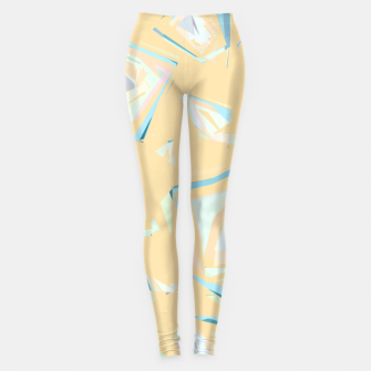 Thumbnail image of Deformed cosmic objects, floating in the empty space, geometric shapes Leggings, Live Heroes
