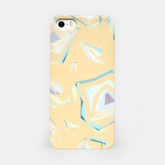 Thumbnail image of Deformed cosmic objects, floating in the empty space, geometric shapes iPhone Case, Live Heroes