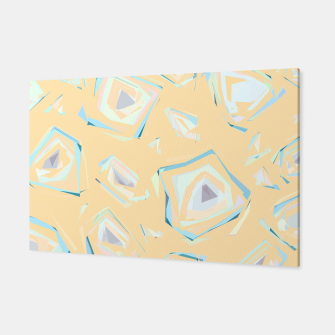 Thumbnail image of Deformed cosmic objects, floating in the empty space, geometric shapes Canvas, Live Heroes