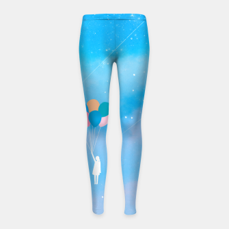 Thumbnail image of Balloons Girl's leggings, Live Heroes