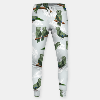 Thumbnail image of Kea New Zealand Bird Sweatpants, Live Heroes