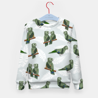 Kea New Zealand Bird Kid's sweater thumbnail image