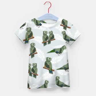 Thumbnail image of Kea New Zealand Bird Kid's t-shirt, Live Heroes