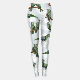 Thumbnail image of Kea New Zealand Bird Leggings, Live Heroes