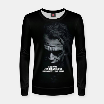 Miniatur Joker 2019 Women sweater, Live Heroes