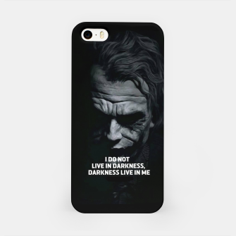 Miniatur Joker 2019 iPhone Case, Live Heroes