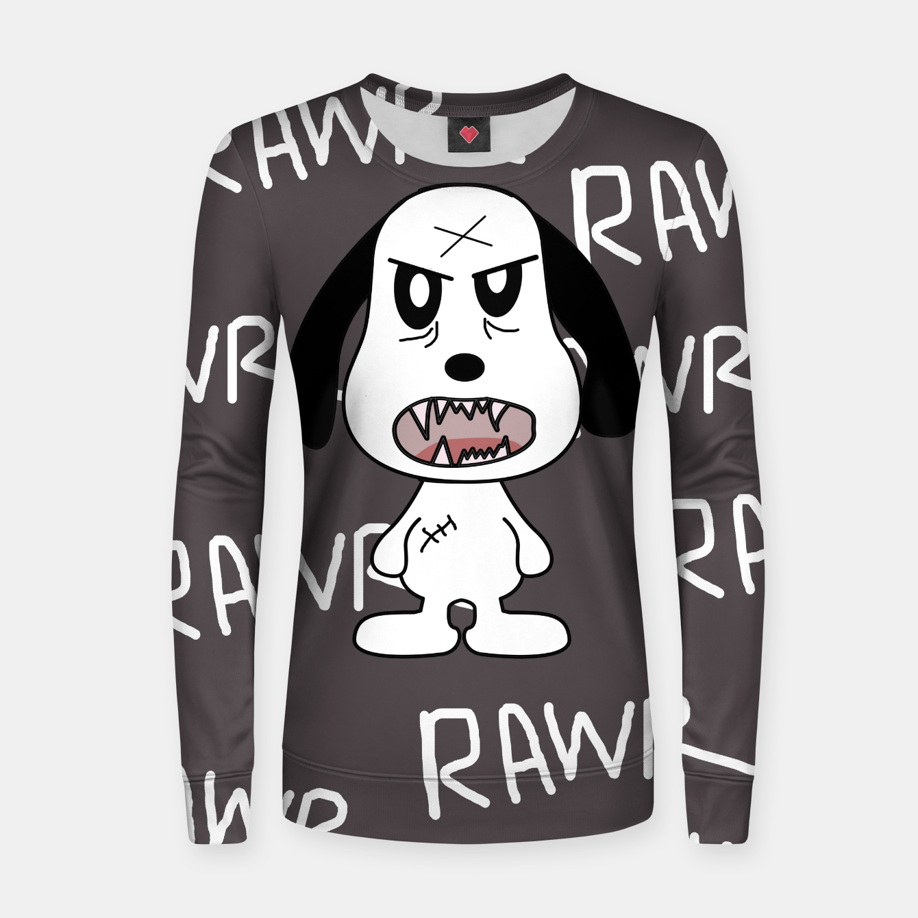 Image of Rawr Sweater - Live Heroes