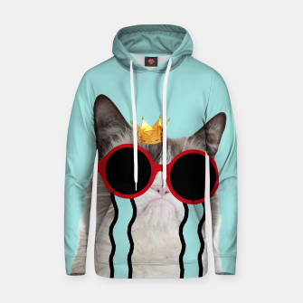 Thumbnail image of Drama Cat Hoodie, Live Heroes