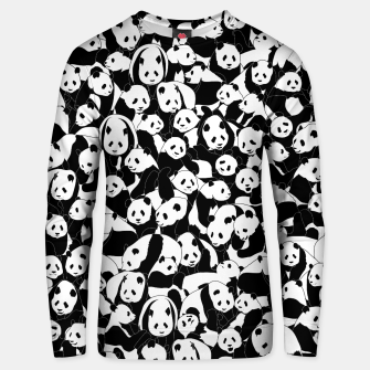 Thumbnail image of Less Hate More Panda Unisex sweater, Live Heroes