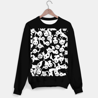 Thumbnail image of Less Hate More Panda Sweater regular, Live Heroes