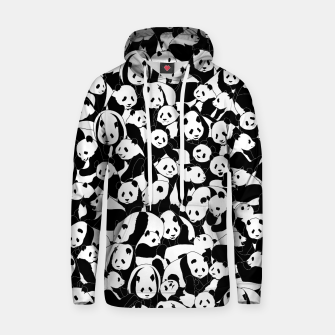 Thumbnail image of Less Hate More Panda Hoodie, Live Heroes