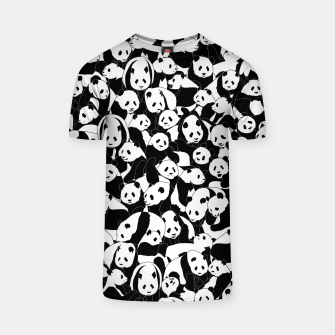 Thumbnail image of Less Hate More Panda T-shirt, Live Heroes