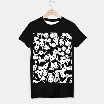 Thumbnail image of Less Hate More Panda T-shirt regular, Live Heroes
