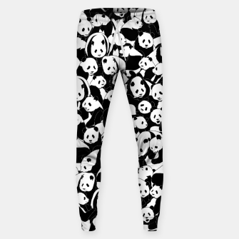 Thumbnail image of Less Hate More Panda Sweatpants, Live Heroes