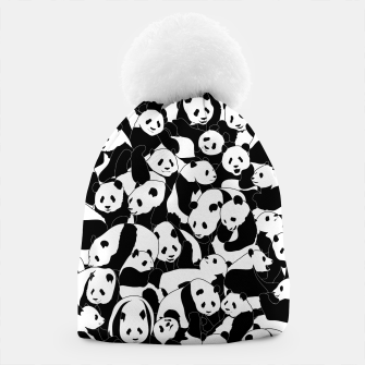 Thumbnail image of Less Hate More Panda Beanie, Live Heroes