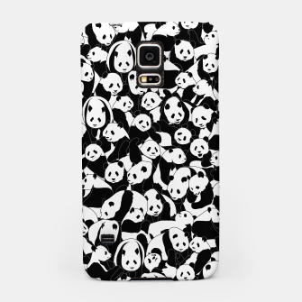 Thumbnail image of Less Hate More Panda Samsung Case, Live Heroes
