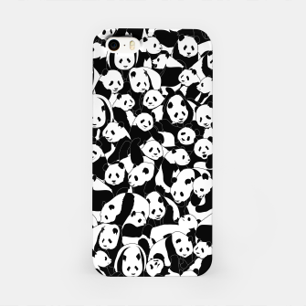 Thumbnail image of Less Hate More Panda iPhone Case, Live Heroes