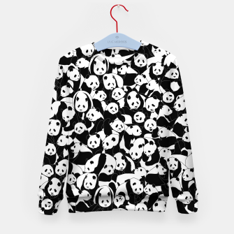 Thumbnail image of Less Hate More Panda Kid's sweater, Live Heroes