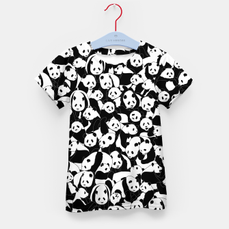 Thumbnail image of Less Hate More Panda Kid's t-shirt, Live Heroes
