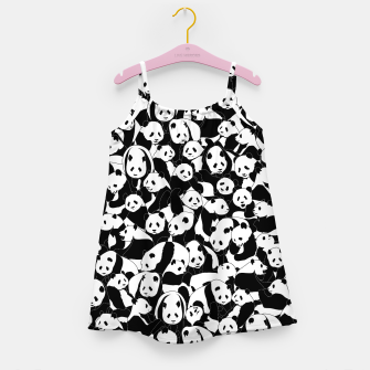 Thumbnail image of Less Hate More Panda Girl's dress, Live Heroes