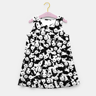 Thumbnail image of Less Hate More Panda Girl's summer dress, Live Heroes