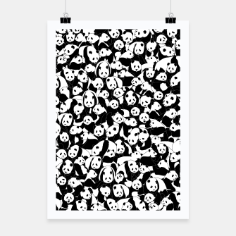 Thumbnail image of Less Hate More Panda Poster, Live Heroes