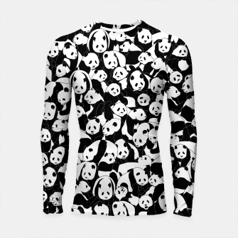 Thumbnail image of Less Hate More Panda Longsleeve rashguard , Live Heroes